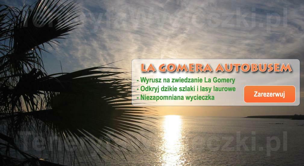 Teneryfa - Wycieczki autobusem La Gomera