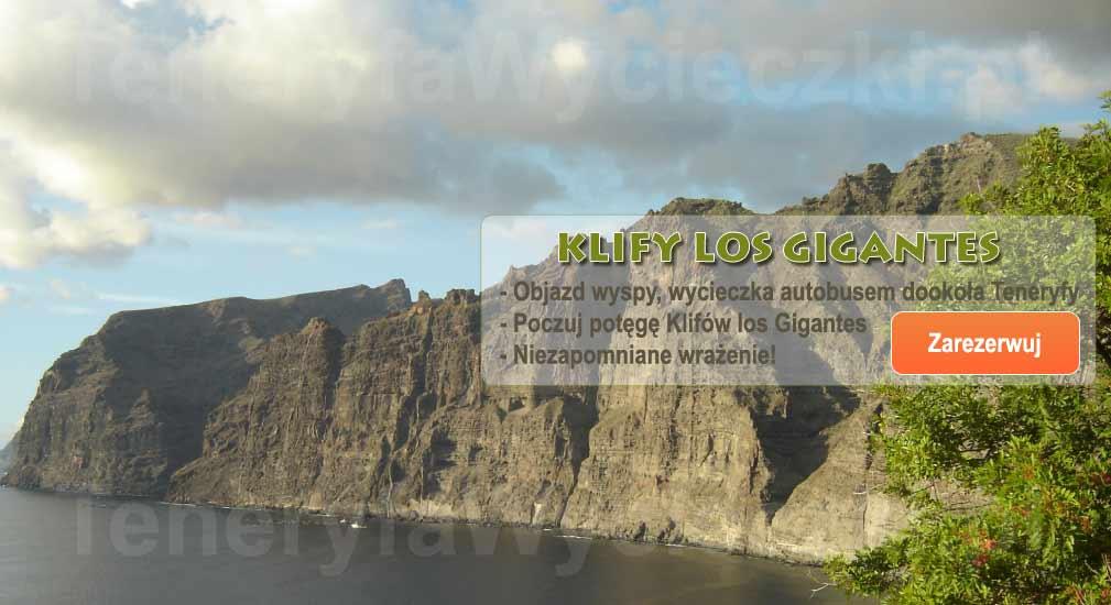 Teneryfa - Wycieczki autobusem Objazd wyspy