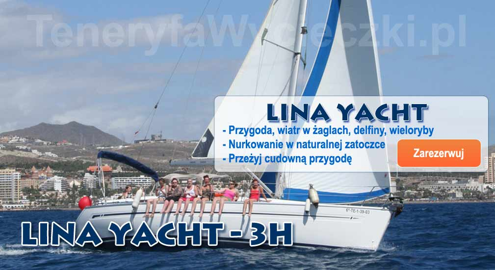 Teneryfa - Wycieczki oceaniczne Lina Yacht 3h