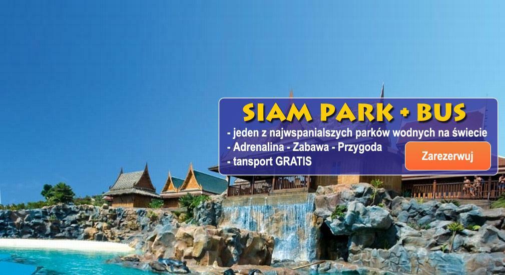 Teneryfa - Parki tematyczne - Siam Park