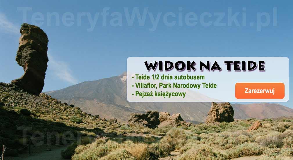 Teneryfa - Wycieczki autobusem Teide 1/2 dnia
