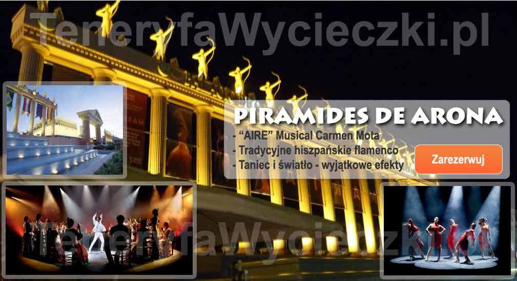 Teneryfa - Spektakle - AIRE - Musical Carmen Mota